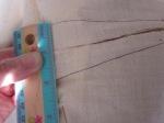original dart width approx. 2 inches