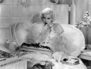 Jean Harlow in Dinner at 8