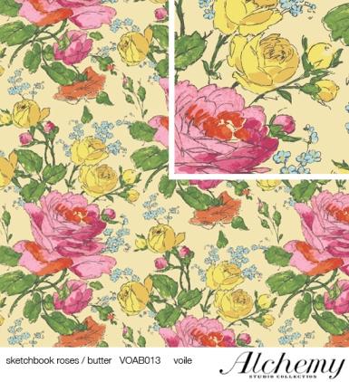 Amy Butler Sketchbook roses